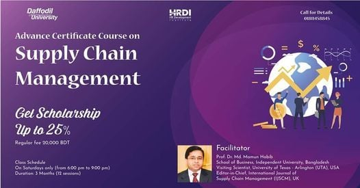 Advanced certificate course on Supply Chain Management | Event in Dhaka | AllEvents.in