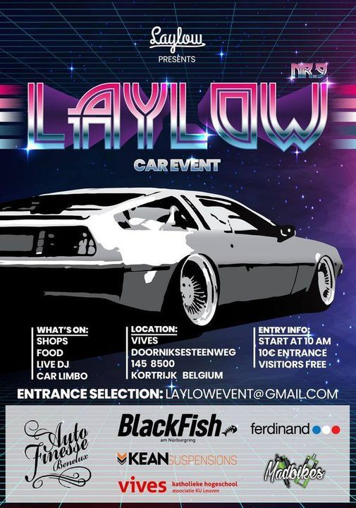 Lay Low No.9 **official**, 25 April | Event in Kortrijk | AllEvents.in