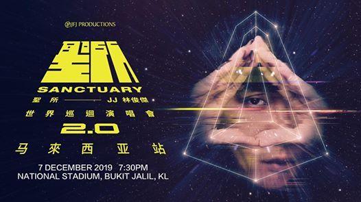 JJ Lin Sanctuary World Tour 2.0