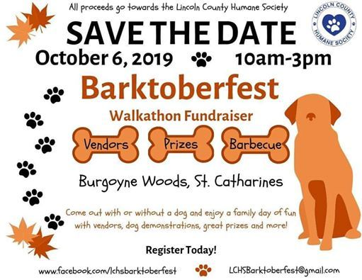 LCHS Barktoberfest at Burgoyne Woods Park, St  Catharines