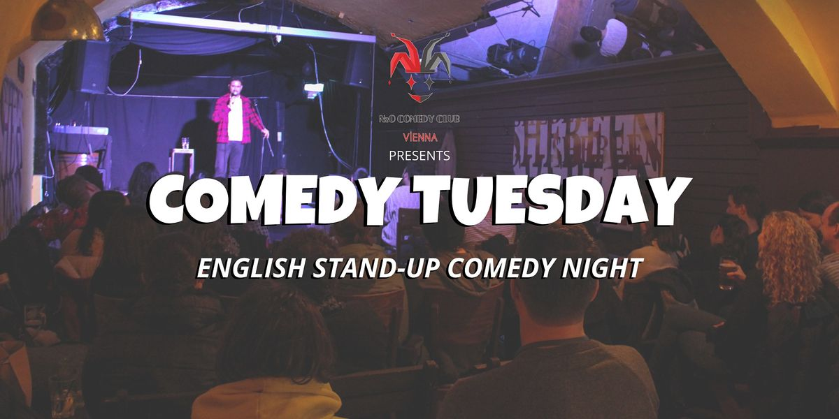 Comedy Tuesday at Shebeen Intl. Pub (English Stand-Up Comedy Night), 17 November | Event in Wien | AllEvents.in