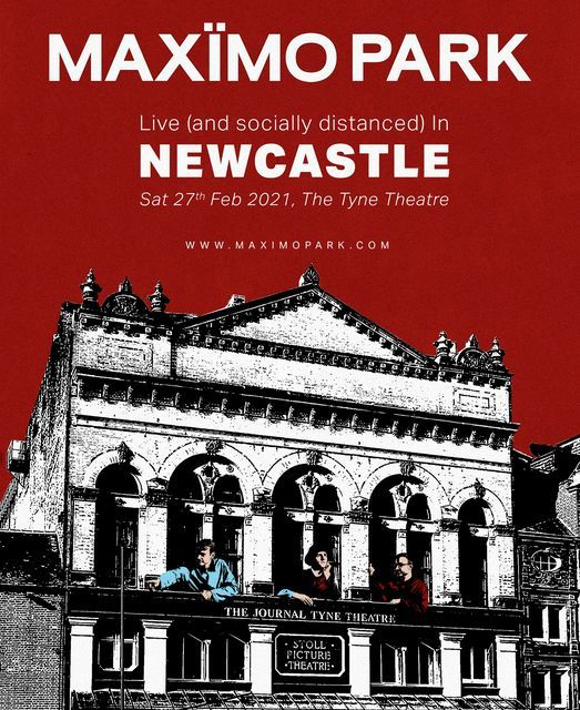 Maxïmo Park - Live in Newcastle, 27 February | Event in Newcastle upon Tyne | AllEvents.in