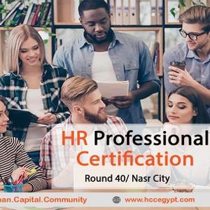 HR Professional Certificate  Round 40 Nasr City