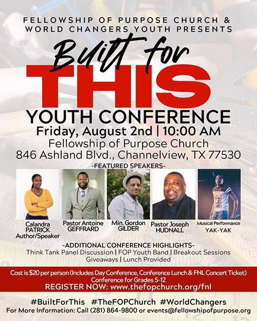 Built for This Youth Conference at Fellowship of Purpose Church
