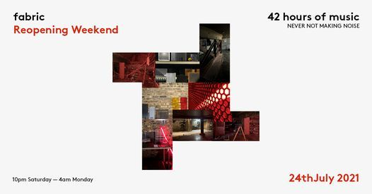 fabric Reopening Weekend, 26 June | Event in London | AllEvents.in