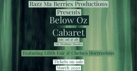 Below Oz Cabaret at ATB Financial Arts Barn, Edmonton
