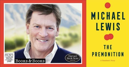P&P Live! Michael Lewis | The Premonition with Maya Shankar, 7 May | Online Event | AllEvents.in