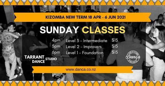 Kizomba Sunday Classes (Term 2 of 2021), 18 April | Event in Wellington | AllEvents.in