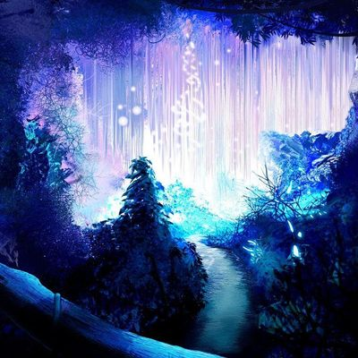 Creative Freedom Family Summer Art Adventures Glow-in-the-Dark Forest