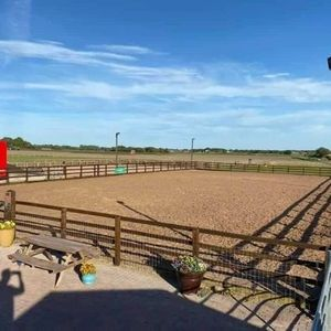 Dani Holt PoleJump clinic  Greens Lane Equestrian L31 4HZ
