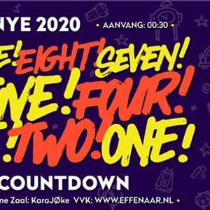 Club Countdown NYE 2020  Effenaar