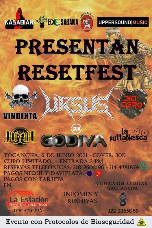 Reset fest, 6 June | Event in Engativa | AllEvents.in