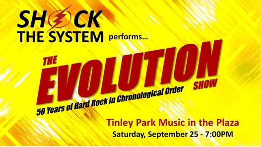 Shock The System at Tinley Park Music in the Plaza   Event in Tinley Park   AllEvents.in