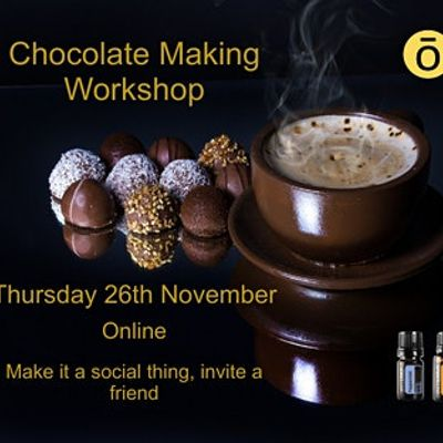 Chocolate Making Workshop with Essential Oils