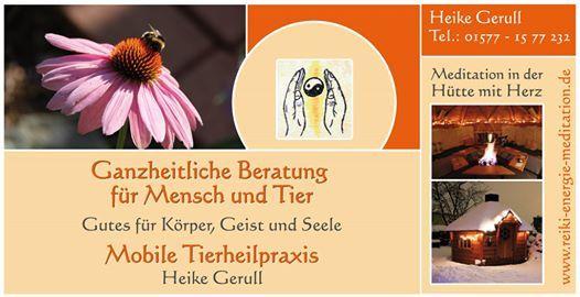 Tierkommunikation bungsseminar mit Heike Deubel