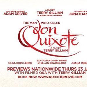 Sligo - The Man Who Killed Don Quixote preview  filmed Q&ampA
