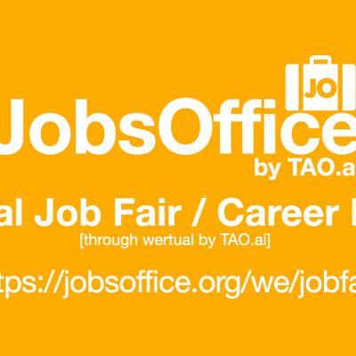 JobsOffice Virtual Job Fair  Career Expo Event Boston