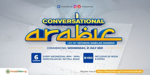 Conversational Arabic Course, 16 June | Event in Singapore | AllEvents.in
