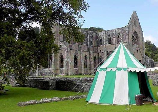 Medieval Free Company At Tintern Abbey