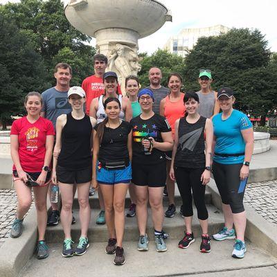 TW Training Marathon Training Runs