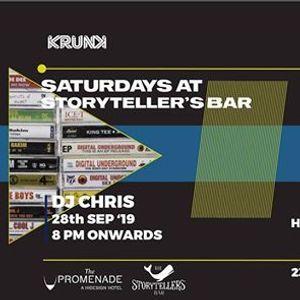 Saturdays ft DJ Chris at The Storytellers Bar  Pondicherry