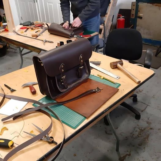 Advanced Leather Class - Satchel Making