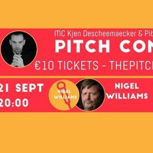 Pitch Comedy - Nigel Williams  met voorprogramma - Charlotte Vandegehuchte  Yannick Joos