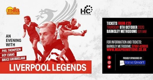 An evening with the Liverpool Legends - Barnsley