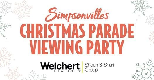 Simpsonville Christmas Parade 2021 Simpsonville Christmas Parade Viewing Party Weichert Realtors Shaun Shari Group Simpsonville December 1 2019 Allevents In