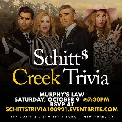 Schitts Creek Trivia