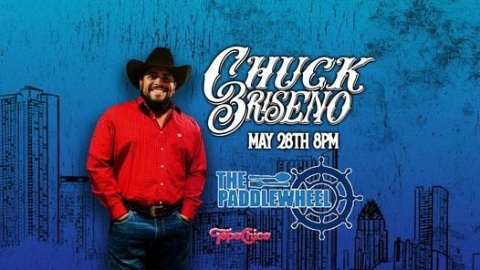 Chuck Briseno at The Paddlewheel - Branson, MO, 28 May | Event in Branson | AllEvents.in