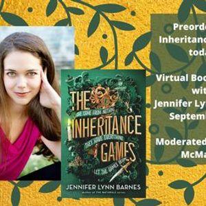 Jennifer Lynn Barnes Virtual Book Launch