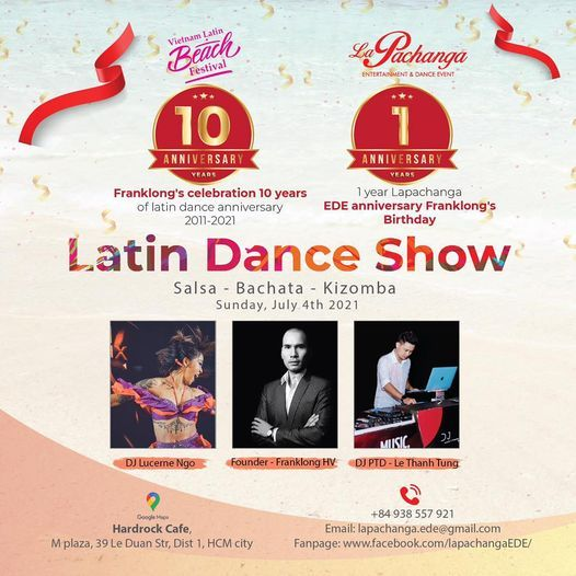 Liveshow 10 years Latin Dancing Anniversary, 4 July | Event in Ho Chi Minh City | AllEvents.in