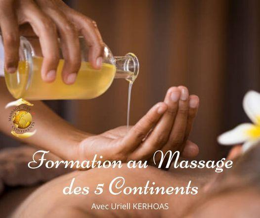 Formation au Massage des 5 Continents | Event in Saint-gilles | AllEvents.in