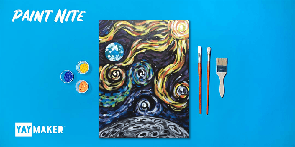 Paint Nite: The Original Paint and Sip Party, 15 December | Event in Sacramento | AllEvents.in