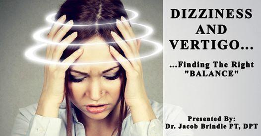 Free Workshop Dizziness and Vertigo