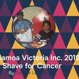 Miss Samoa Victoria Inc - Shave For Cancer