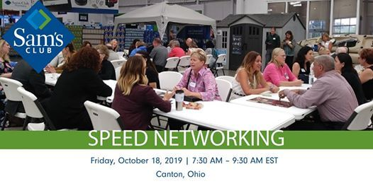 Speed Networking  Sams  Business Professionals in Canton