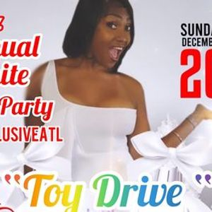 Copy of Ms Jazz All White Christmas Party Toy Drive