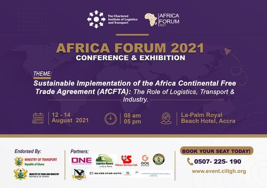 CILT Africa Forum 2021, 12 August | Event in Lome | AllEvents.in