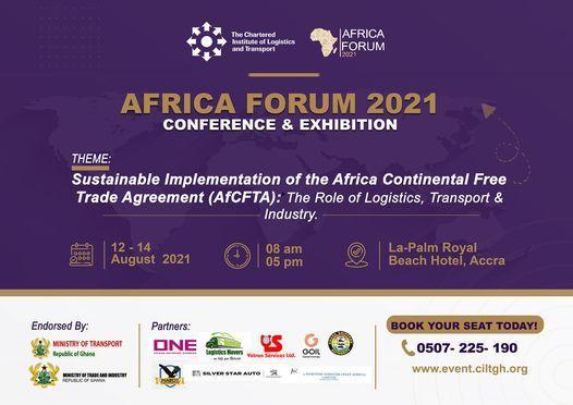 CILT Africa Forum 2021, 12 August   Event in Accra   AllEvents.in