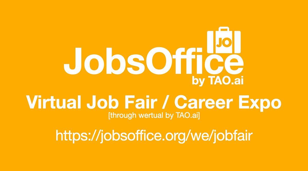 #JobsOffice Virtual Job Fair / Career Expo Event #Boston   Event in Boston   AllEvents.in