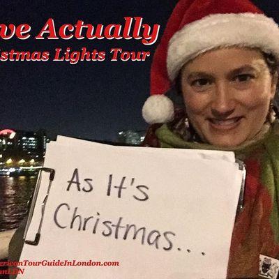 Love Actually Christmas Lights Walk