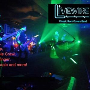 Party on with the Livewire Classic Rock Covers Band at Eddies