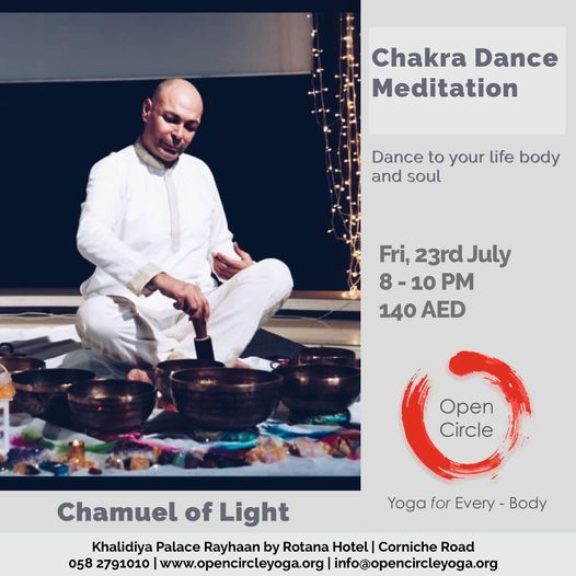 Chakra Dance Meditation, 23 July   Event in Abu Dhabi   AllEvents.in