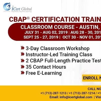 CBAP-Certified Business Analysis Professional Certification Training Course in Austin TX USA.
