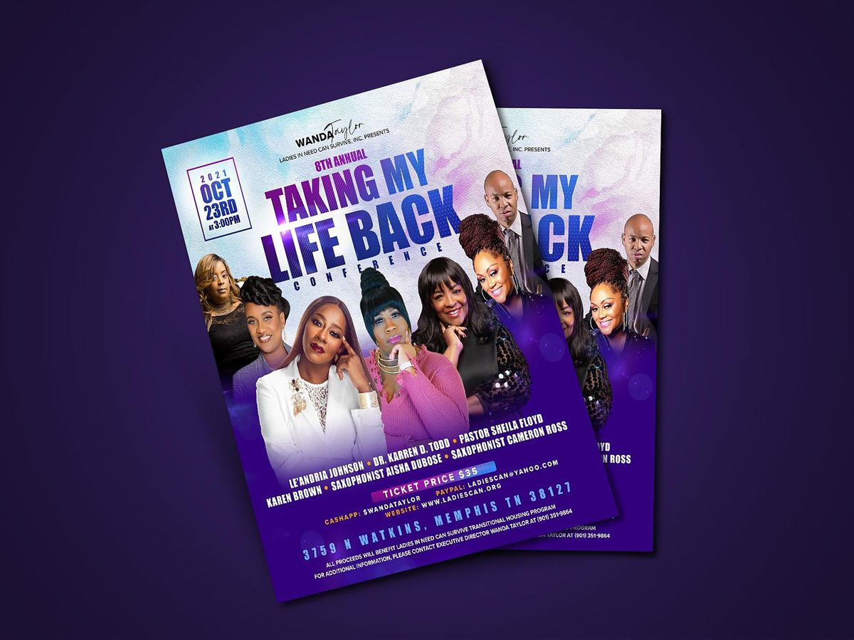 Ladies In Need Can Survive 8th Annual Taking My Life Back Conference | Event in Memphis | AllEvents.in
