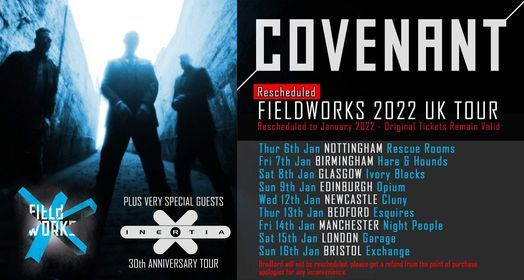 Covenant - Fieldworks 2021 UK Tour, 12 January   Event in Newcastle upon Tyne   AllEvents.in