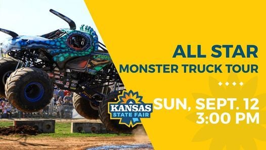 All Star Monster Truck Tour, 12 September | Event in Hutchinson | AllEvents.in