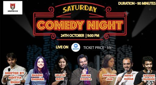 Saturday Comedy Night | Online Event | AllEvents.in